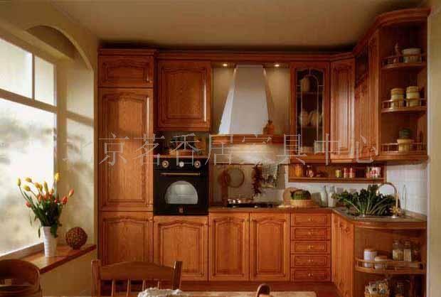 实木橱柜整体厨柜定做橱柜
