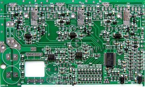 9管电动车控制器半成品(电路板