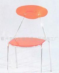 7号水晶椅(桔红)