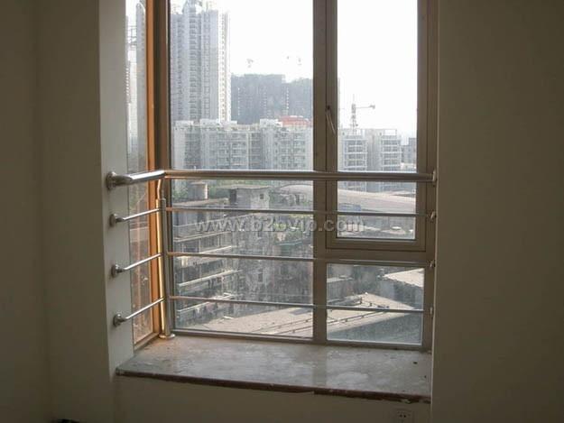 铝合金飘窗结构图