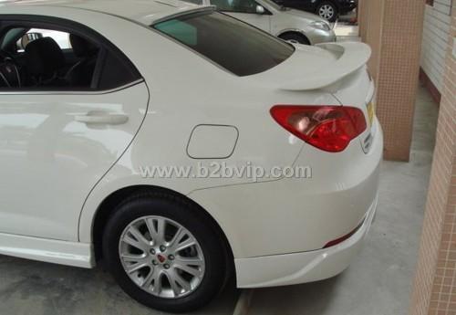 荣威550尾翼 尾翼 汽车改装 汽车及配件 用品 维修 商机高清图片