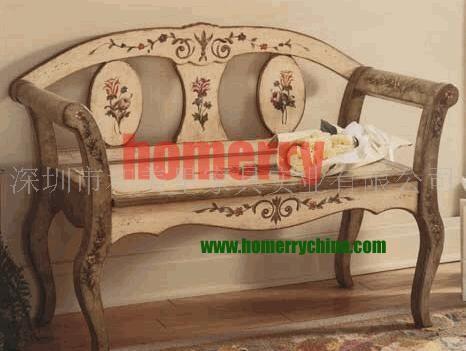 供应欧式美式田园古典手绘家具休闲