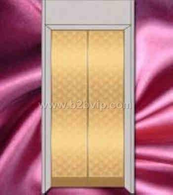 彩色不锈钢电梯门板,玫瑰金不锈钢蚀刻花纹电梯门板