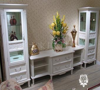组合家具定做 订做高柜 订做电视柜 高低柜制作 客厅家具