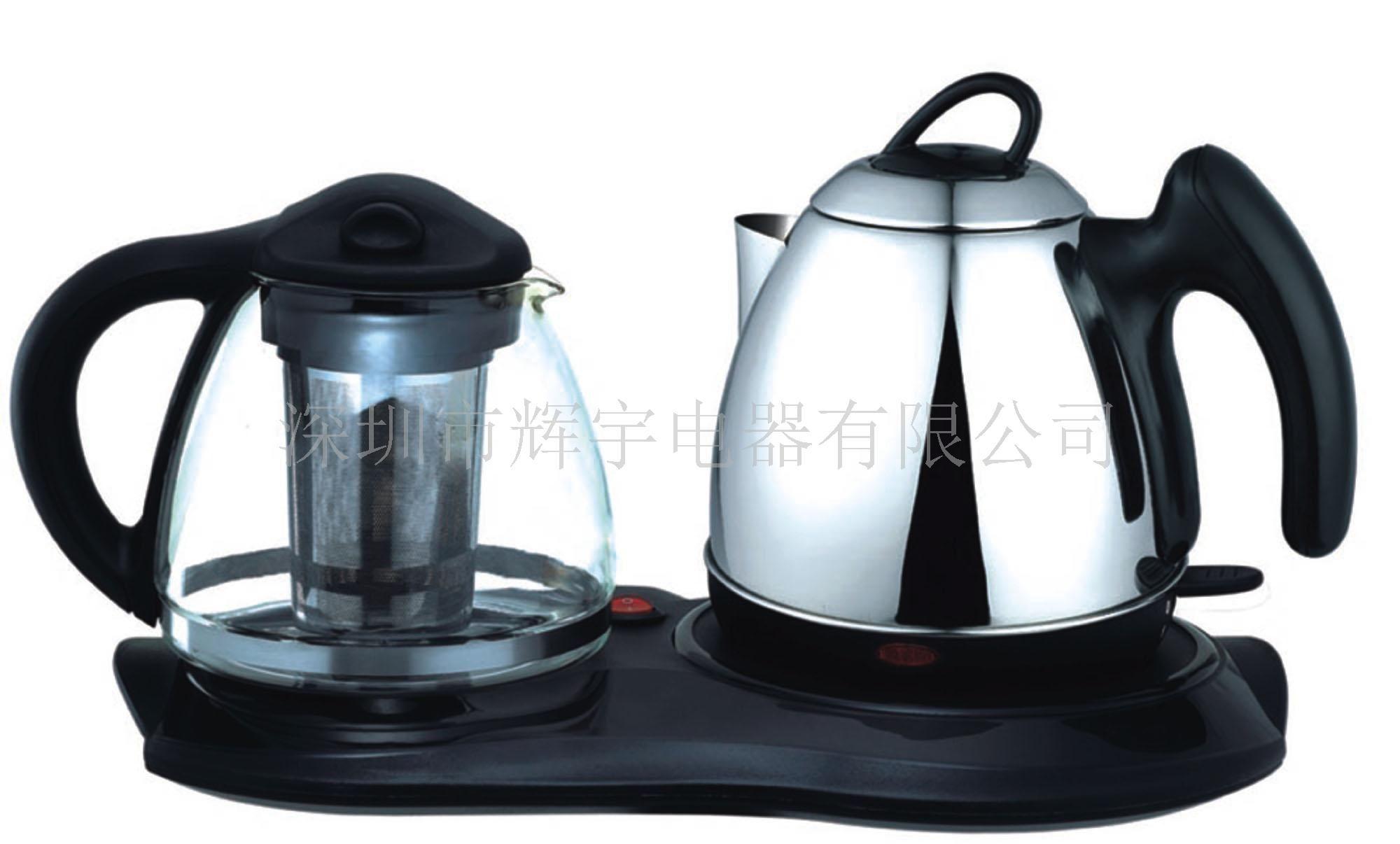電熱水壺套壺、電水壺套裝,電熱壺