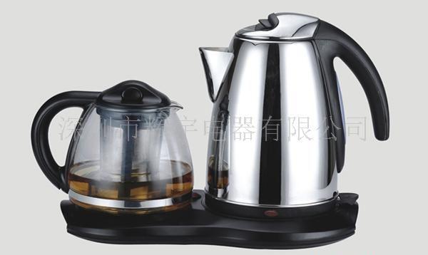 不銹鋼套裝電熱水壺,電水壺,電熱壺