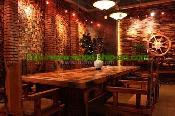 古船木家具-餐厅餐椅