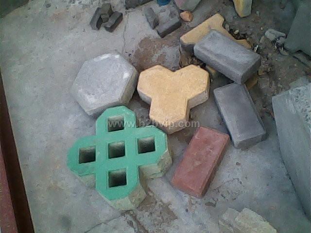 合肥人行道板砖机 彩砖制砖机 彩砖液压机