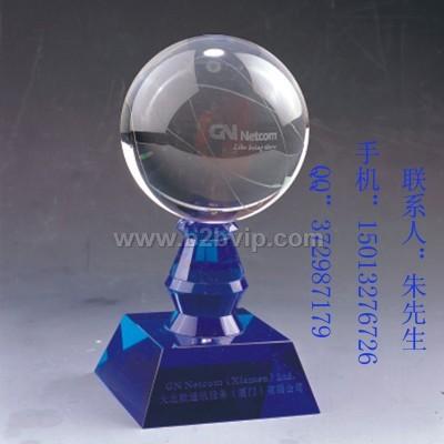 足球协会纪念品 超市馈赠礼品 礼仪礼品 东莞水晶工艺礼品